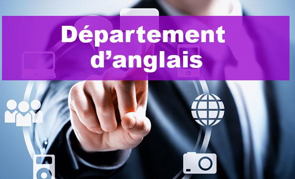 Département d'Anglais